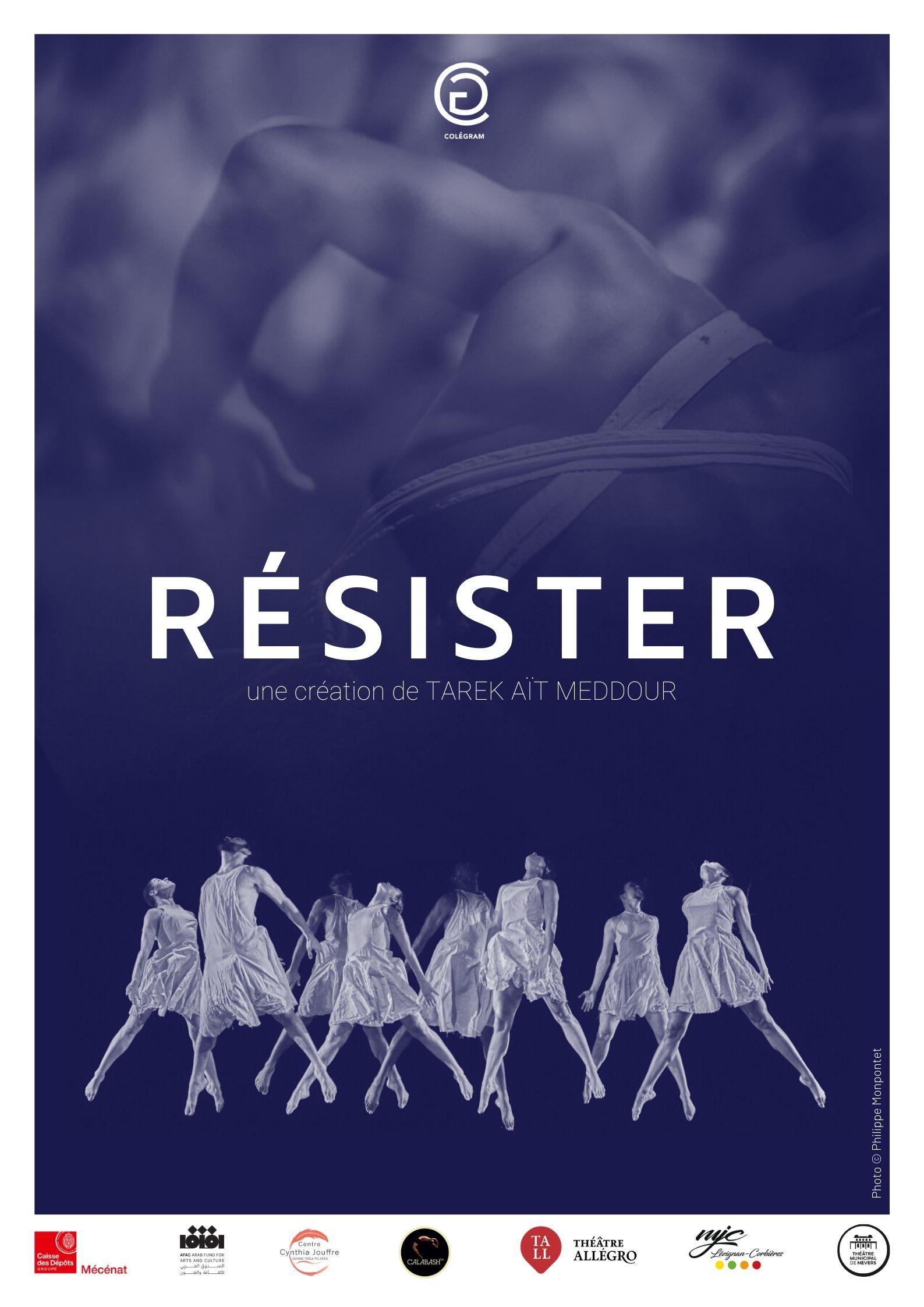 Cie Colégram - RESISTER affiche 2019